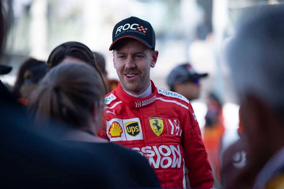Mick Schumacher beats Sebastian Vettel in Race of Champions