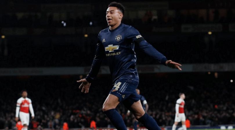 Lingard goal vs Arsenal