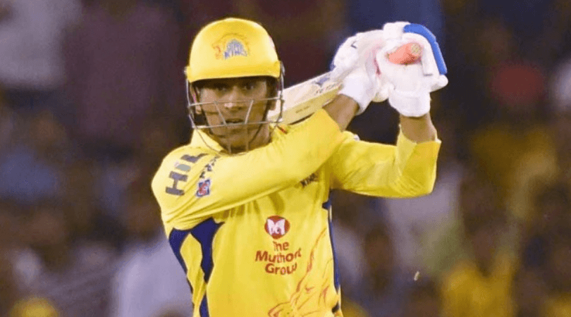 CSK post a flashback tweet for MS Dhoni