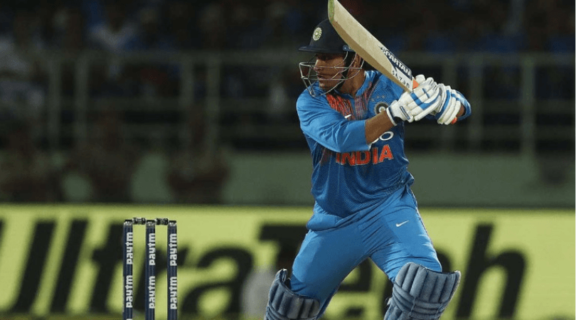 Twitter slams MS Dhoni for his slow innings