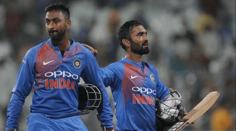 Twitter reactions on Dinesh Karthik refusing a single