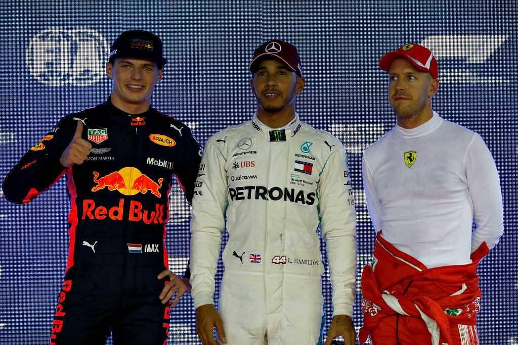 Christian Horner feels Lewis Hamilton and Sebastian Vettel fear Max Verstappen