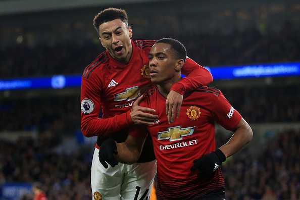 Martial and Lingard return to training