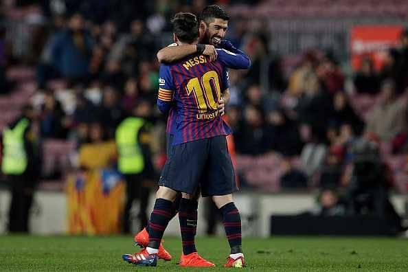 Luis Suarez on Messi