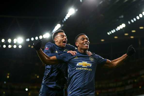 Martial and Lingard could return for the game against Liverpool