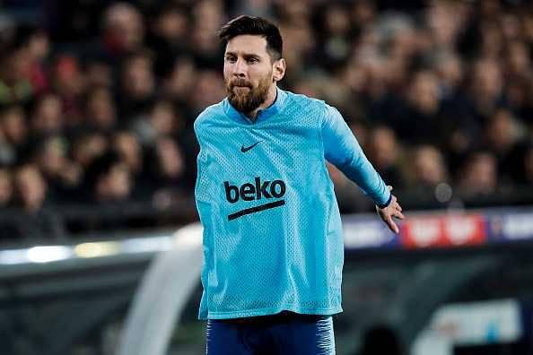 Lionel Messi injury news