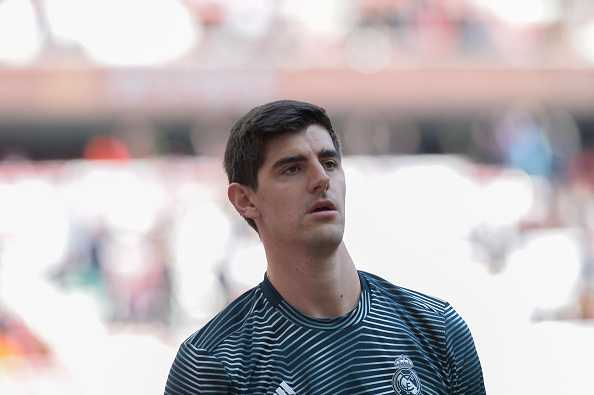 Courtois responds to Atletico fans