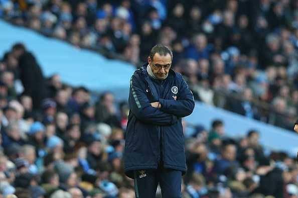 Maurizio Sarri might be sacked