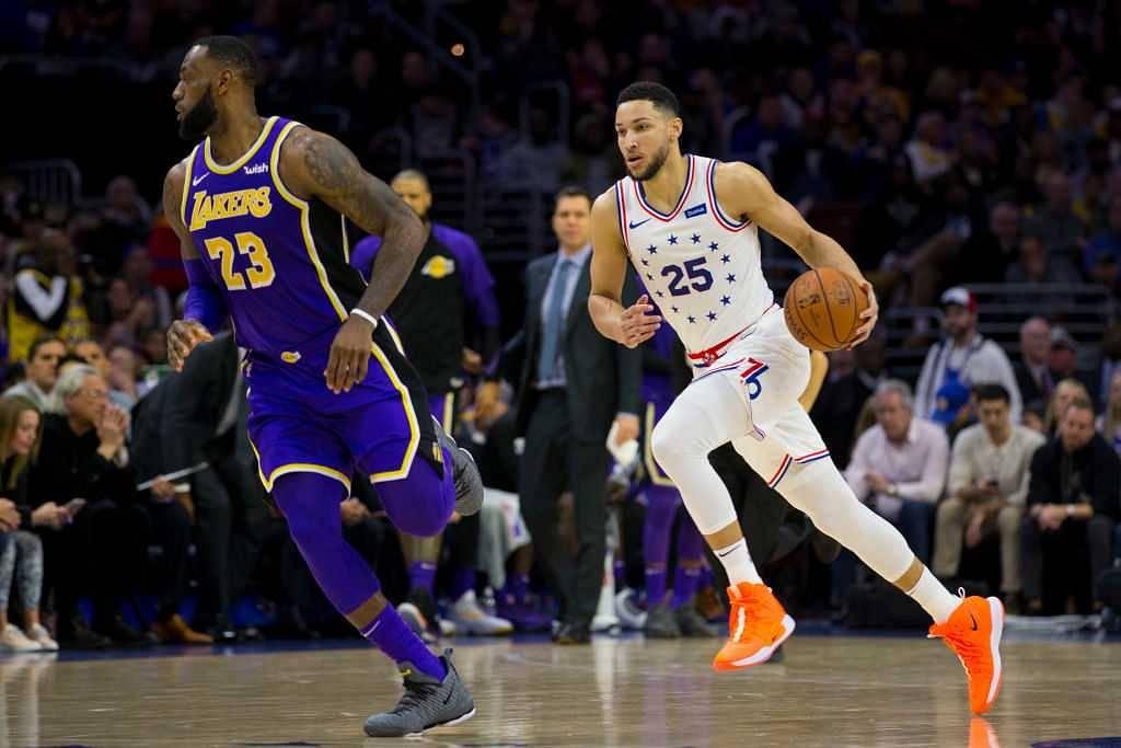 PHI vs LAL Dream11 Prediction : Philadelphia 76ers Vs Los Angeles Lakers Best Dream 11 Team for NBA 2019-20 Match