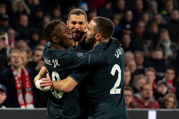Twitter reactions on Ajax vs Real Madrid