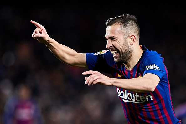 Jordi Alba contract extension