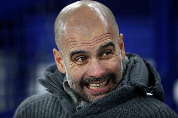 Guardiola swears on live TV