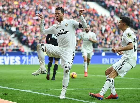 Sergio Ramos mocks Griezmann
