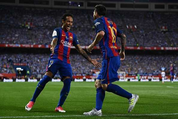 Neymar tearful while speaking about Lionel Messi
