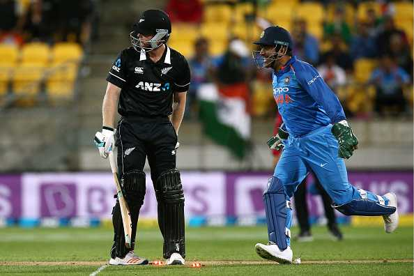 Neesham reacts on MS Dhoni running him out