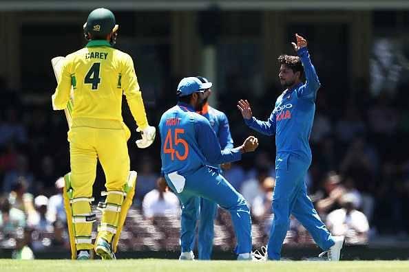 Kuldeep Yadav reaches career-best T20I rankings