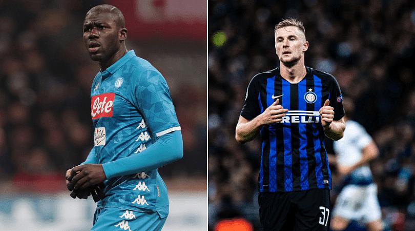 Kalidou Koulibaly and Milan Skriniar to Manchester United