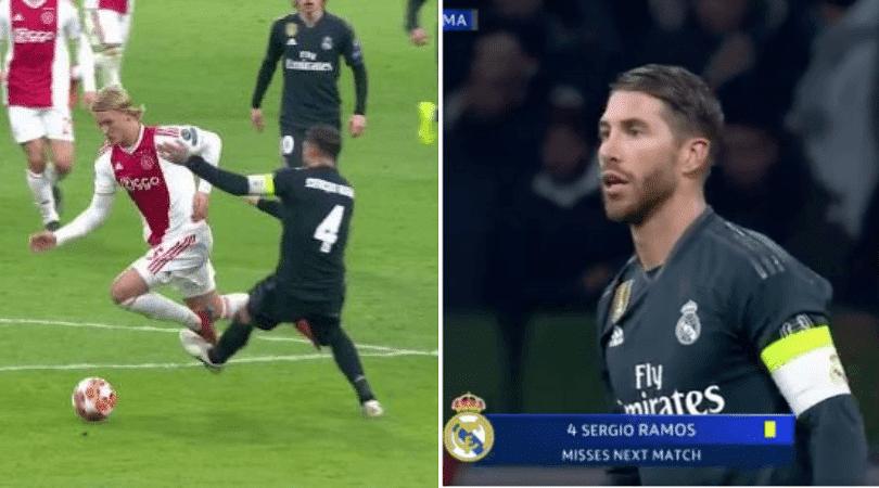 Sergio Ramos Vs Ajax