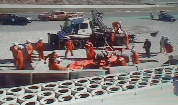 WATCH: Vettel crashes during Barcelona testing, taken to hospital