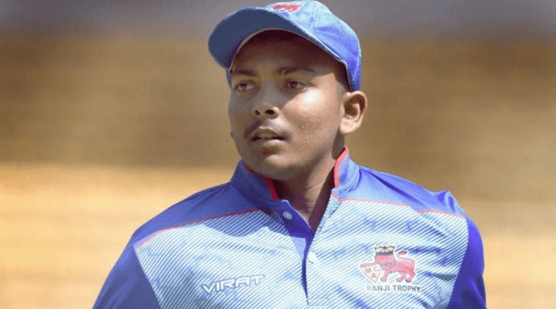 Twitter reactions on Prithvi Shaw's third T20 half-century