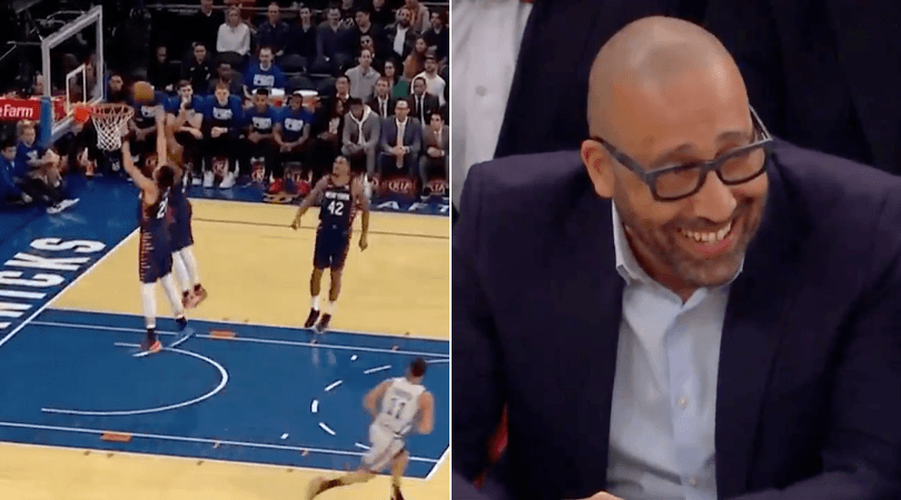 WATCH: New York Knicks score on their own basket, take tanking to another level