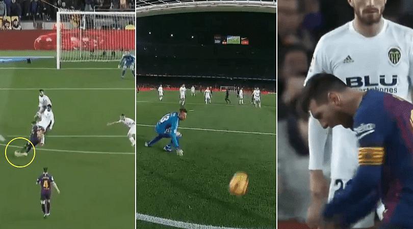 Messi goal vs Valencia