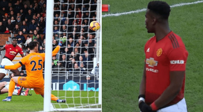Paul Pogba goal vs Fulham