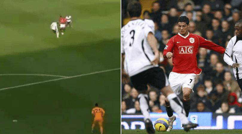 Anthony Martial goal vs Fulham