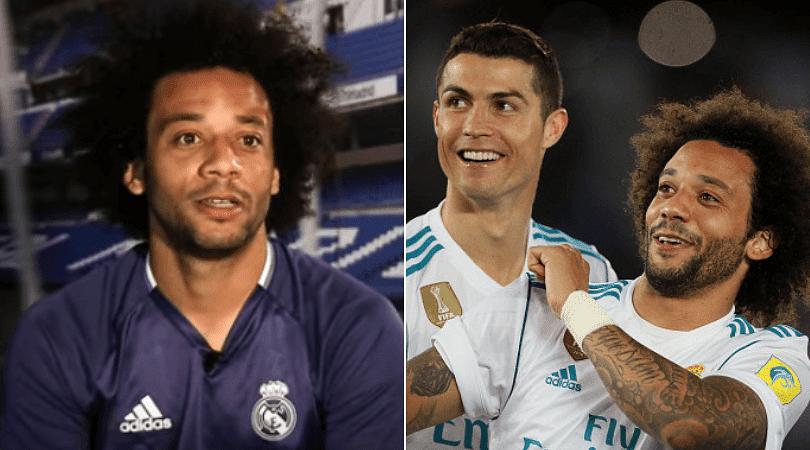 Marcelo on Ronaldo