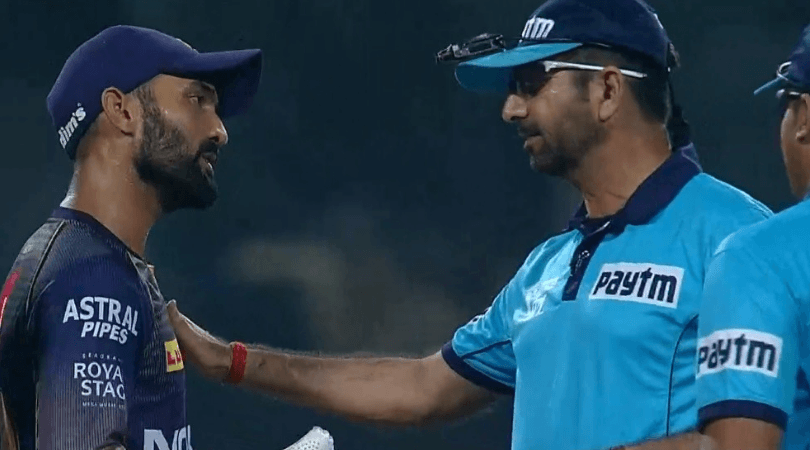 Why Dinesh Karthik argued with umpires