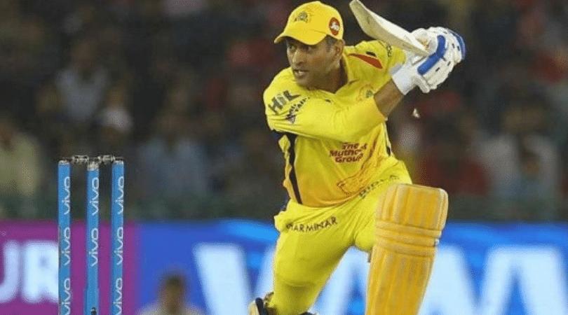 CSK confirms Dhoni's batting position for IPL 2019