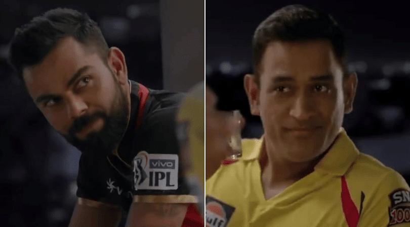 MS Dhoni vs Virat Kohli in new IPL 2019