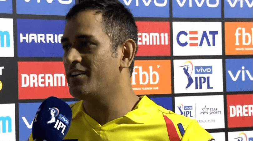 CSK captain admits missing one cricketer in IPL 2019