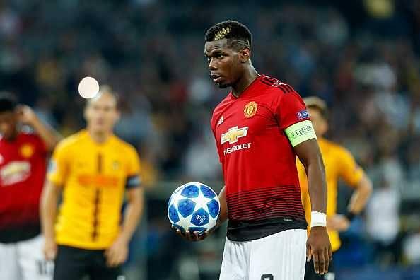 Paul Pogna named Manchester United captain