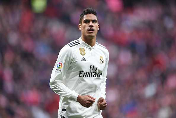 Raphael Varane could leave Real Madrid