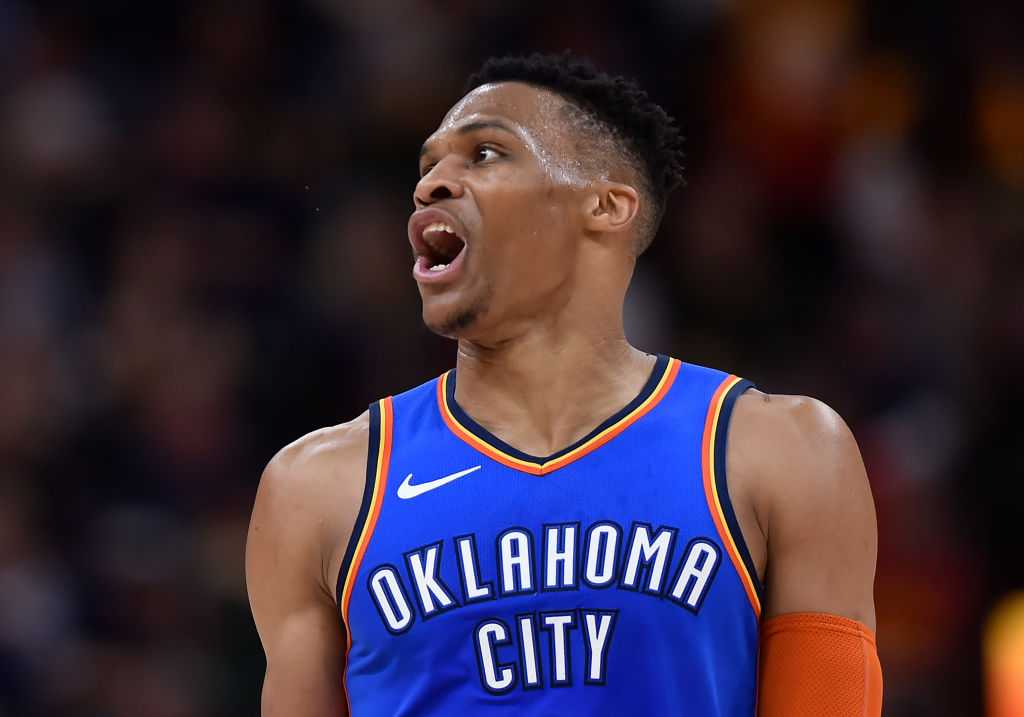 WATCH: Russell Westbrook shouts 'I'll f**k you up' at courtside Jazz fan and his wife