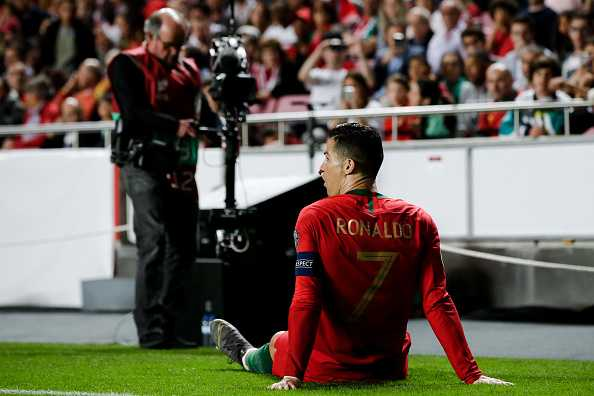 Cristiano Ronaldo injury news