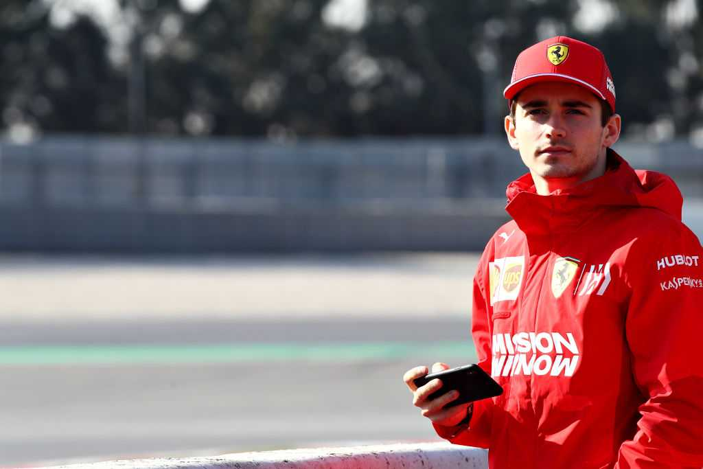Formula 1 censor 'Mission Winnow' from Charles Leclerc's profile photo