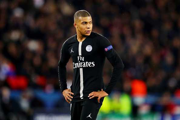 Kylian Mbappe after Manchester United game
