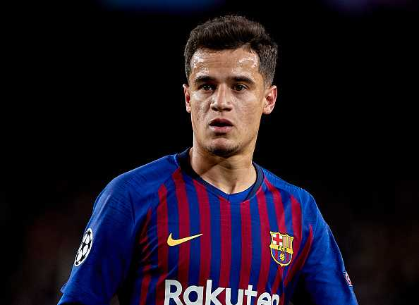 Philippe Coutinho not moving to Manchester UNited