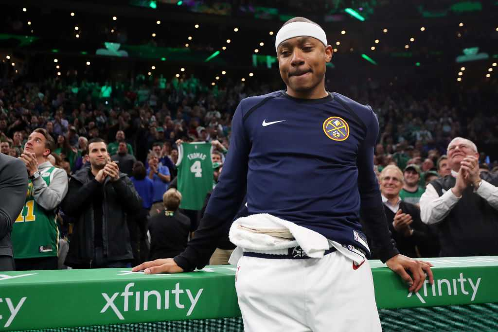 Isaiah Thomas releases emotional statement after tribute video from Boston Celtics