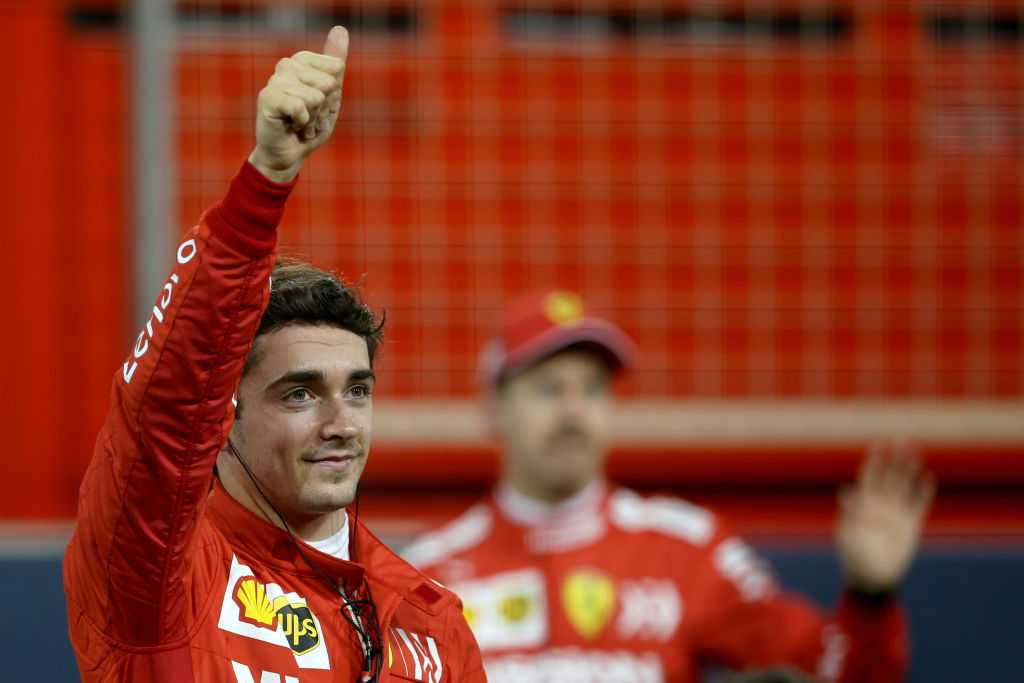 Charles Leclerc's post qualifying radio in Bahrain shows he is ready to win it with Ferrari