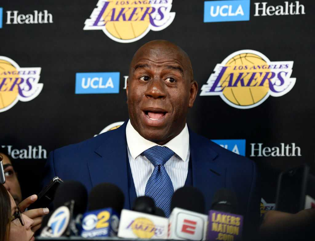Magic Johnson disregarded Luke Walton's advise to keep Julius Randle and Brook Lopez