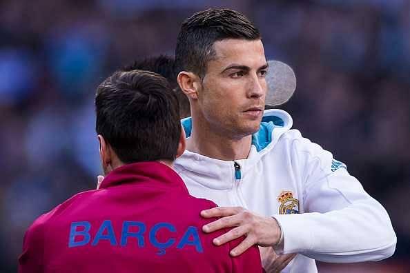 Lionel Messi on Cristiano Ronaldo