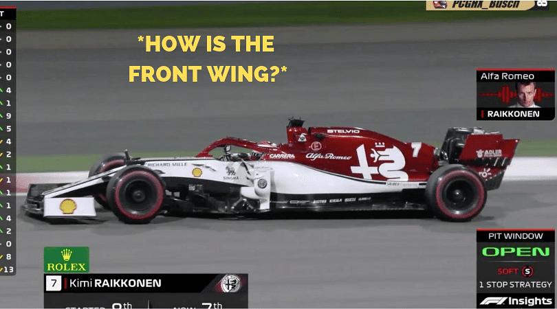 "WATCH: Kimi Raikkonen trolls engineer with ""I don't know you tell me"" radio exchange in Bahrain GP"