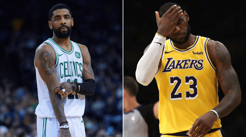 Kyrie Irving comments on LeBron James' poor season with Lakers