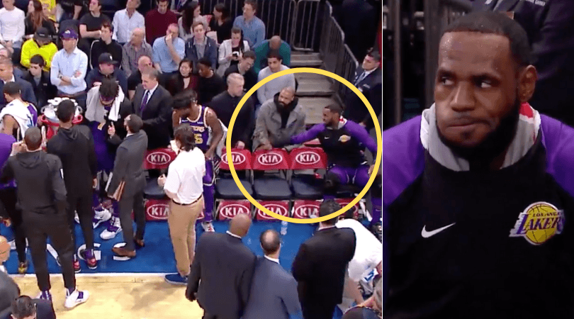 Lakers: LeBron James called out by Clyde Frazier for ignoring teammates in timeout huddle