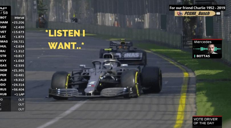 Valtteri Bottas: Watch Australian GP winner tell his engineer he wants the fastest lap point