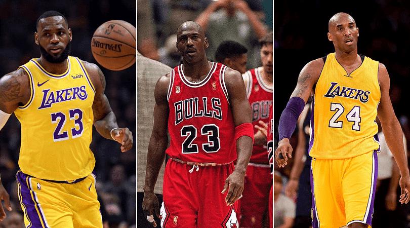 Comparing LeBron James, Michael Jordan and Kobe Bryant in their age 34 season