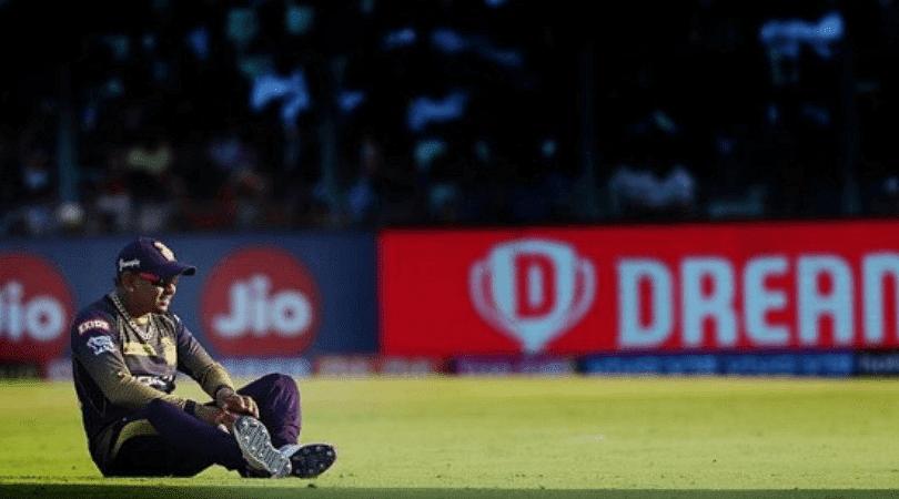 Sunil Narine didn't open the batting for KKR